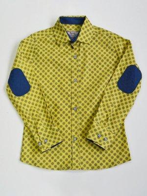 Сорочка жовта в зірочку | 3960857