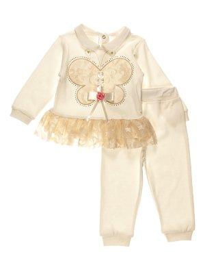Комплект ошатний: джемпер і штани | 3955041