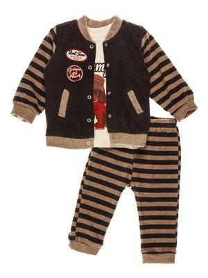 Комплект: толстовка, реглан і штани | 3952470