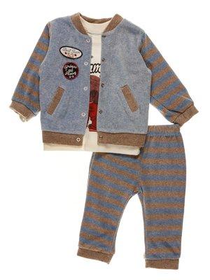 Комплект: толстовка, реглан и брюки | 3952491