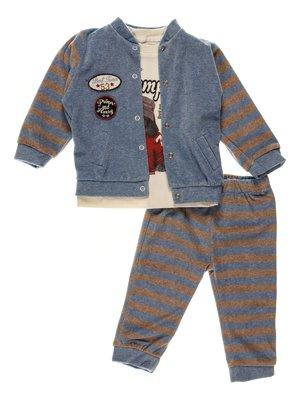 Комплект: толстовка, реглан и брюки | 3952488