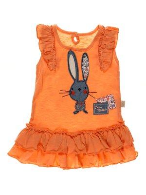 Платье оранжевое | 3952540