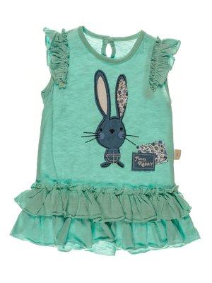 Платье мятного цвета | 3952590