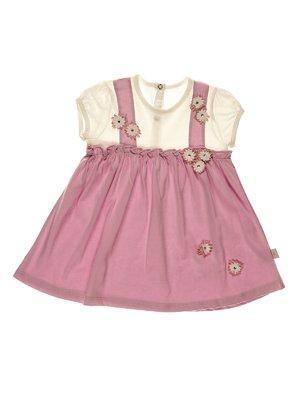 Платье двухцветное | 3952527