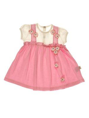 Платье двухцветное | 3952589
