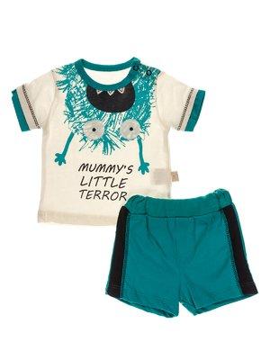 Комплект: футболка і шорти | 3952546