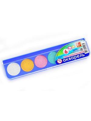 Краски акварельные перламутровые (6 цветов) | 3906627
