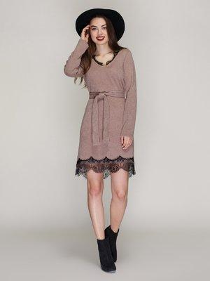Сукня темно-бежева | 3965011