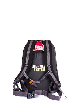 Рюкзак-«рятувальний жилет» чорний | 3924676