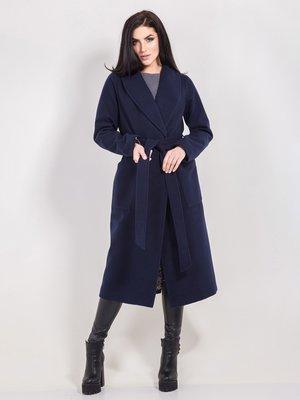 Пальто темно-синее | 3971469