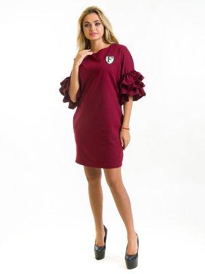 Сукня бордова | 3973814