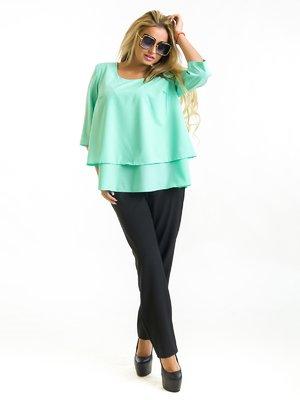 Блуза цвета мяты | 3973830