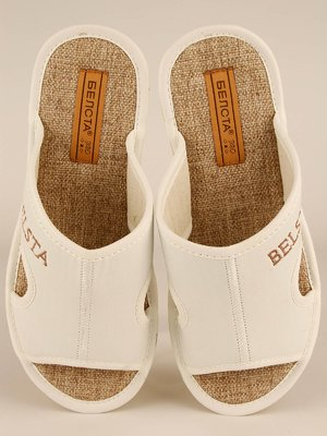 Тапочки білі | 3964906
