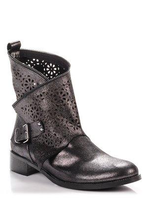 Ботинки цвета никеля | 3965215