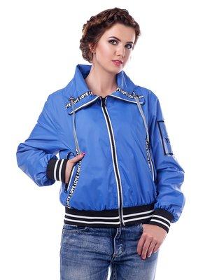 Куртка волошкового кольору | 3974779