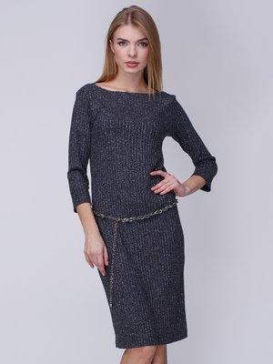 Платье темно-серое | 3976672