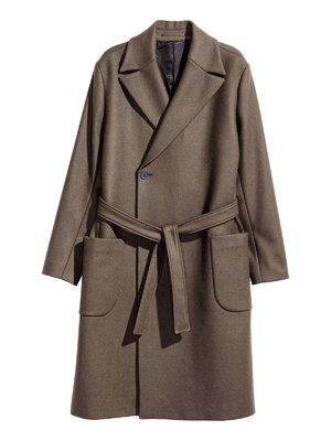 Пальто цвета хаки | 3905240