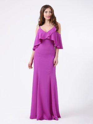 Платье сиреневое | 3984516