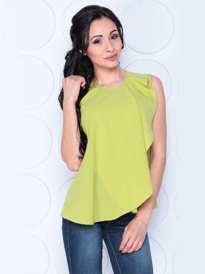 Блуза яблочного цвета | 3983855