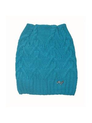 Шапка голубая на флисе   3988552