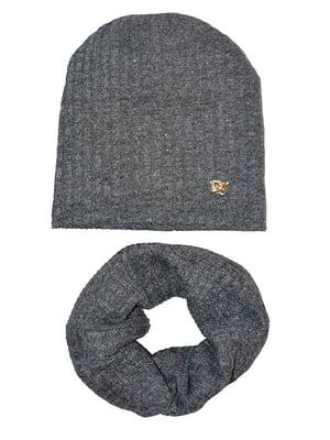 Комплект: шапка і хомут   3988528