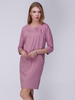 Платье фрезового цвета | 3988916