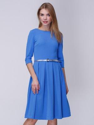 Платье голубое | 3988918