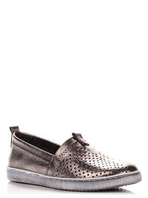 Туфли цвета никеля | 3979615