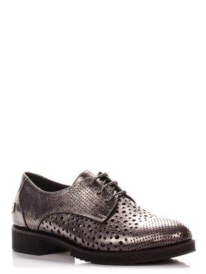 Туфли цвета никеля | 3979616