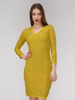 Платье горчичного цвета | 3640404