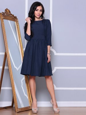 Сукня темно-синя | 3993180