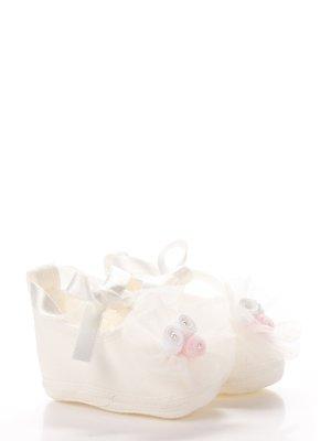 Пінетки молочного кольору ошатні   3989450