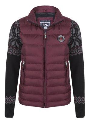Куртка бордовая | 3703103
