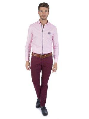 Рубашка розовая | 3703128