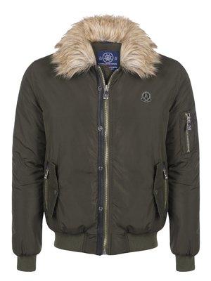 Куртка цвета хаки | 3812801