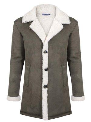 Пальто цвета хаки | 3812816