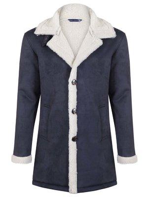 Пальто синє | 3812817