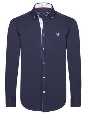 Рубашка темно-синяя | 3812818