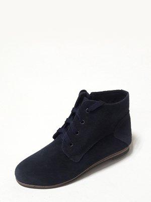 Ботинки темно-синие   3994388