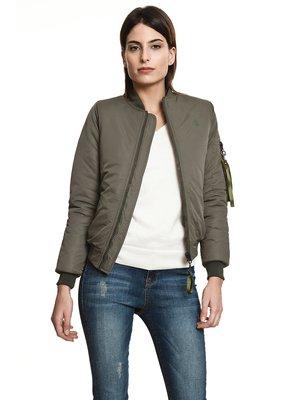 Куртка цвета хаки | 3994984