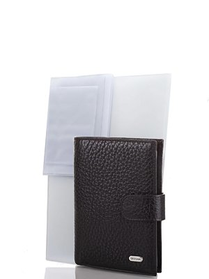 Портмоне черное с органайзером для документов | 3969346