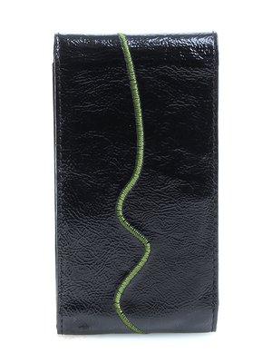 Ключница черная с вышивкой | 3997139