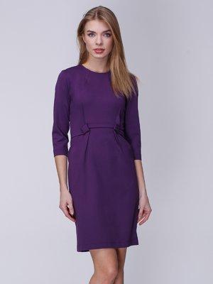 Платье чернильного цвета | 3996270