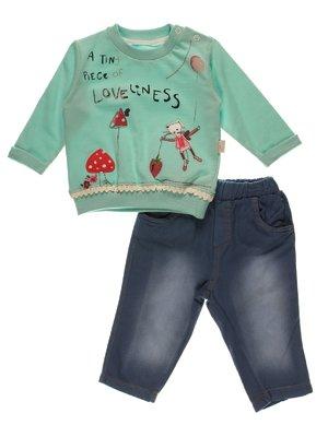 Комплект: джемпер і штани | 3989412