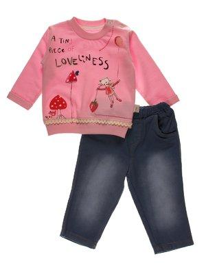 Комплект: джемпер і штани | 3989411