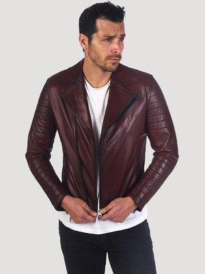 Куртка бордовая | 3993042
