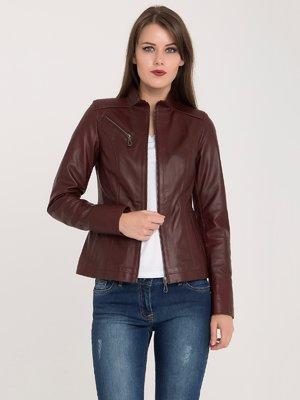 Куртка бордова | 3993154