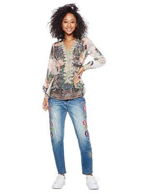 Блуза в принт | 3996830