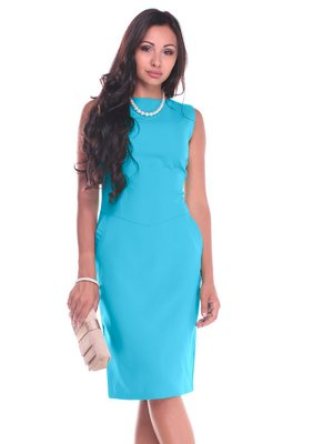 Платье бирюзовое | 3997211