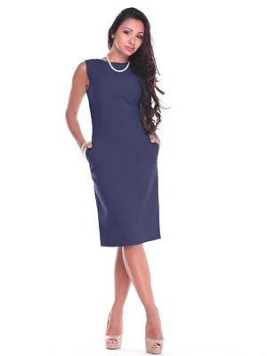 Платье темно-синее | 3997213
